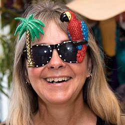 Tropical Parrot Sunglasses