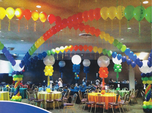 ... Balloons Without Helium, No Helium Balloon Decorating, Party DecorationsDiane  Cappel. Photo Courtesy Of Paper U0026 Party Magazine