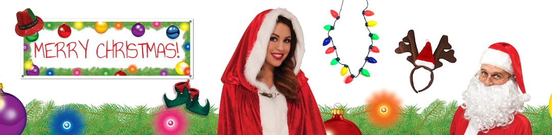 Christmas Decorations, Party Supplies and Costumes