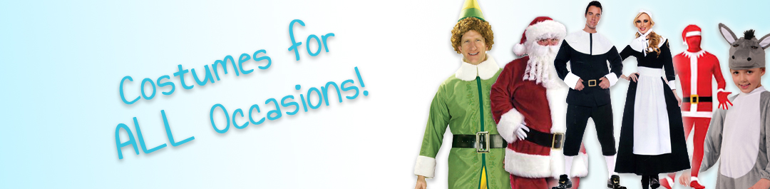 Christmas and Thanksgiving Costumes from Cappel's
