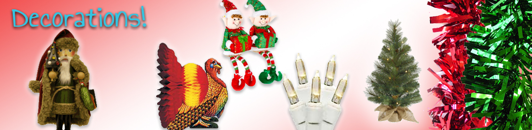 Thanksgiving and Christmas Decorations from Cappel's