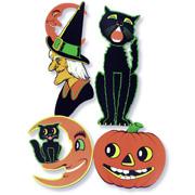 Halloween  Classic Cutouts - set of 4