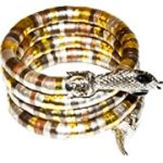 Deluxe Egyptian Cobra Coil Bracelet
