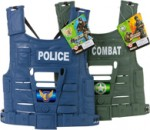Cops, Criminals, Firefighters, & Military Children's Costumes