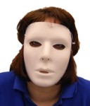 Blank Male Face Mask