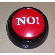 The NO! Button - Talking Button