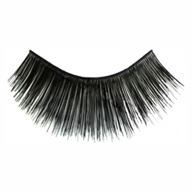 Eyelashes Black Long Thick Human Hair - Kara