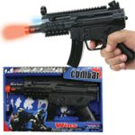 Machine Gun Pistol w/ sound & lights