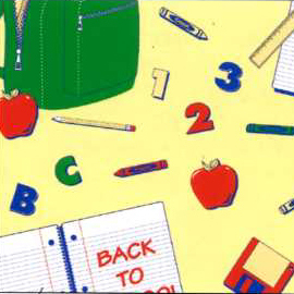 Corobuff - School Days bulletin board paper