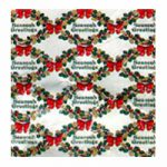 Corobuff - Season's Greeting Wreath bulletin board paper