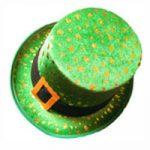 Shamrock Leprechaun St. Patrick Patty's Top Hat