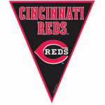 Cincinnati Reds Pennant Banner - 12'