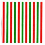 Corobuff - Red, White & Green Stripes