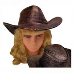 Embossed Gambler Western Hat - Assorted Colors