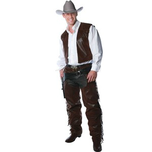 Cowboy Chaps and Vest