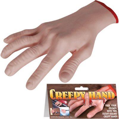 Rubber Hollow Cut Off Creepy Hand