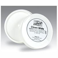 Mehron Clown White Make-Up - 8 oz