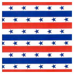 Corobuff - Patriotic Stripes backdrop