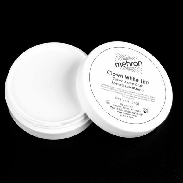 Mehron Clown White Lite Makeup