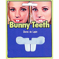 Costume Plastic Bunny/Buck Teeth
