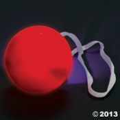 Red Nose - Light-up Nose for Reindeer or Clown