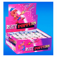 Party Poppers Confetti New Years Celebration Sports
