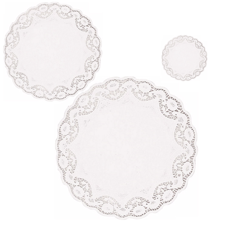 White Paper Doilies - Available in 5 Sizes