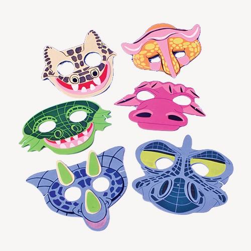 Foam Dinosaur Half Mask for kids