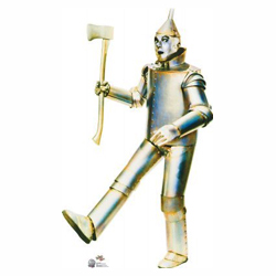Tinman from The Wizard of Oz Cardboard Stand Up