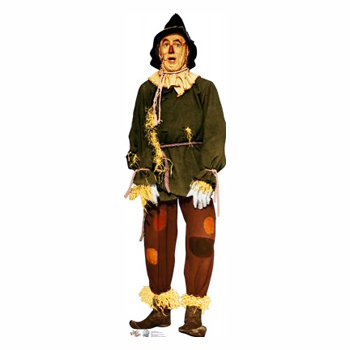 Scarecrow from TheWizard Of Oz Cardboard Stqand UP