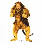 Cowardly Lion From The Wizard of Oz Stand Up Cardboard Figure