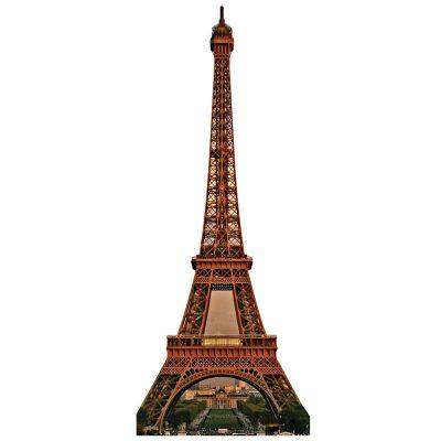 Eiffel Tower Cardboard Stand up