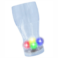 Clear Plastic Light Up Drinking Glass