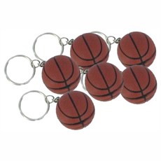 Relaxable Basketball Keychain