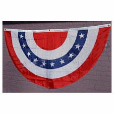 3' X 6' Patriotic Bunting
