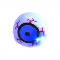 2 Inch Light Up Rubber Eyeball