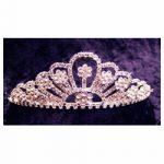 Rhinestone Tiara - Silver #165