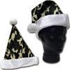 Printed Camo Santa Hat w/ white trim