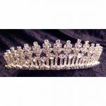 Rhinestone Tiara - Silver #170