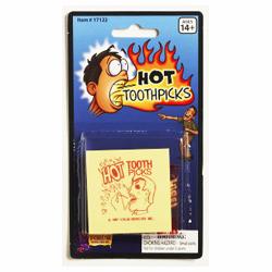 Novelty Hot Toothpicks