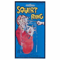 Novelty Squirt Ring