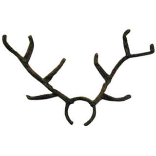large reindeer antlers costume accessory