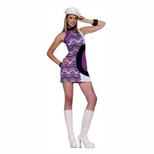 1960s Mod GoGo Dress Halloween Costume