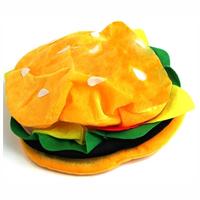 Fabric Hamburger Hat