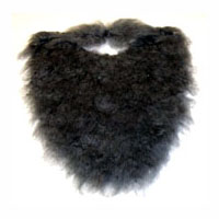 Costume Beard and Moustache - Available in 4 colors