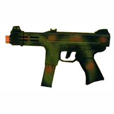 Plastic Camouflage Machine Gun