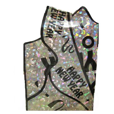 Happy New Year Silver Vest