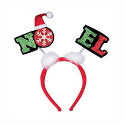 NOEL christmas headband headbopper