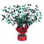 Holly and Berry GleamN Burst Centerpiece