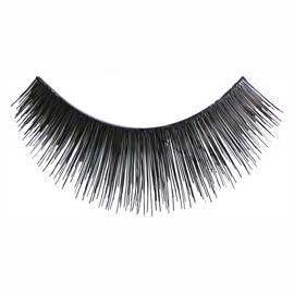 Eyelashes Black Long Thick Human Hair - Kara